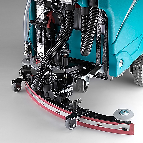 THE DRYING SYSTEM E61 WALK-BEHIND SCRUBBER-DRYER