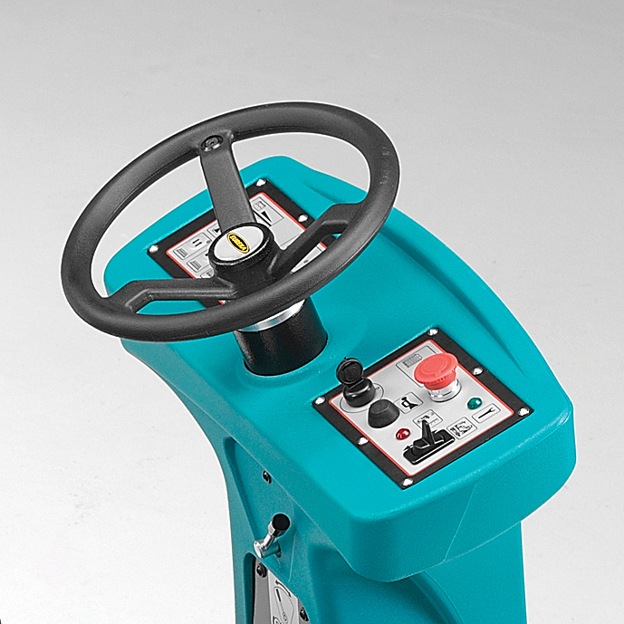 INTUITIVE MULTI-FUNCTION DISPLAY E85 SCRUBBER DRYER