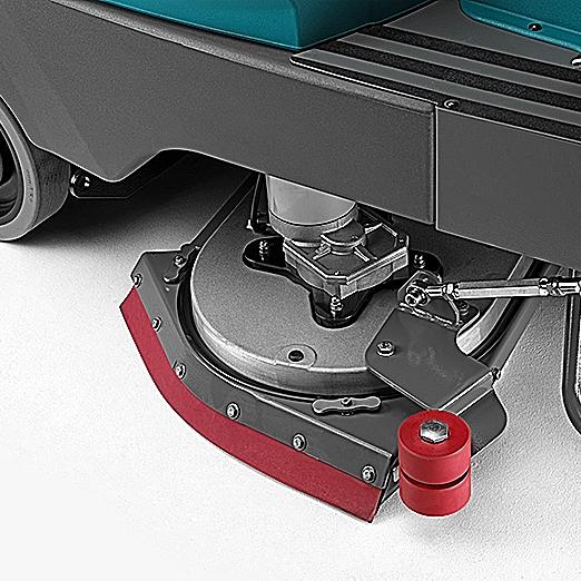 SELF-LEVELLING SPLASHGUARD WITH PRE-WASH SETTING E85 SCRUBBER DRYER