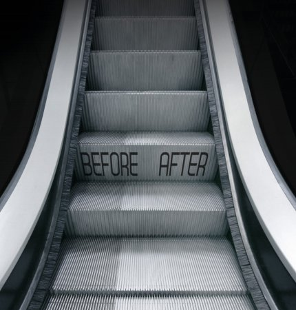 SEE THE DIFFERENCE! EC51 ESCALATOR & TRAVELATOR DEEP CLEANER